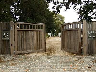 Houten Tuinpoorten ‹ Hoogwaardige houten poorten en tuinpoorten ‹ Tom Heuleu